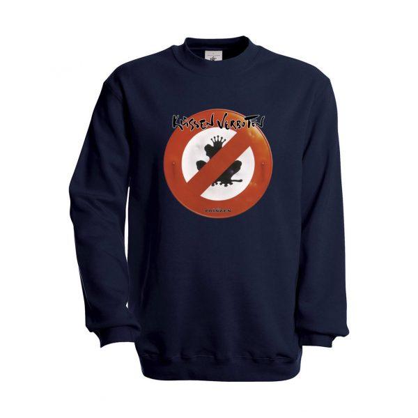 """Sweatshirt """"Küssen verboten"""""""