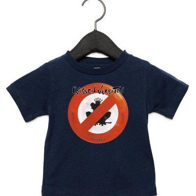"""Babyshirt """"Küssen verboten"""""""